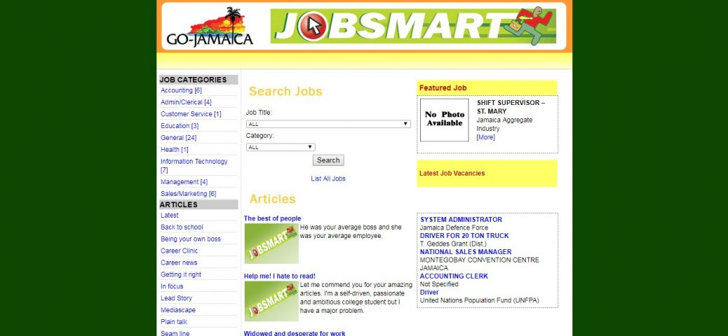 go-jamaica- job websites in jamaica
