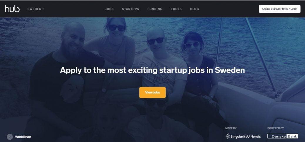the hub - job portals in sweden