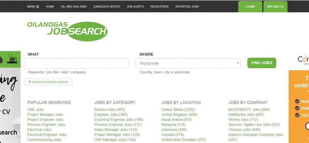 oil and gas job search - jobs in venezuela