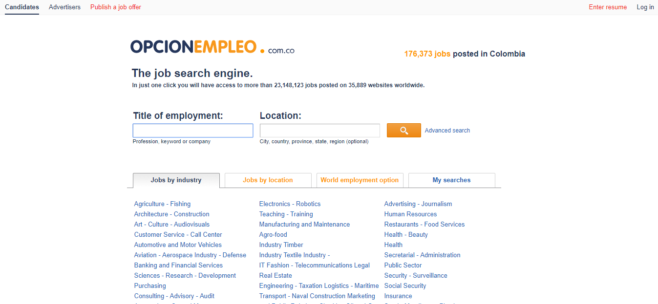 opcion empleo-jobs in colombia for exptats