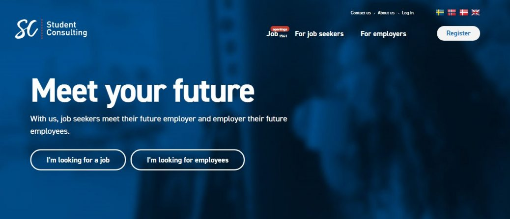 student consulting - job portals in sweden