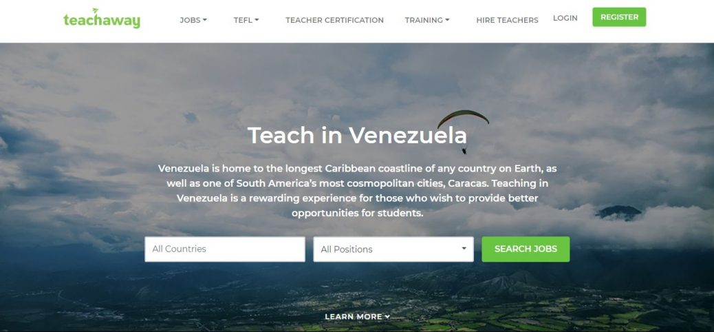 teachaway - jobs in venezuela