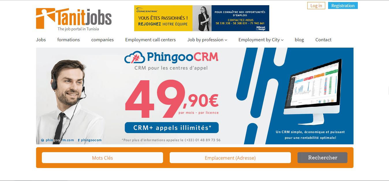Tanitjobs - job opportunities in Tunisia