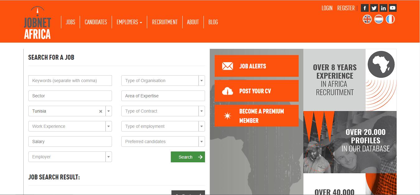 jobnet africa- job opportunities in tunisia