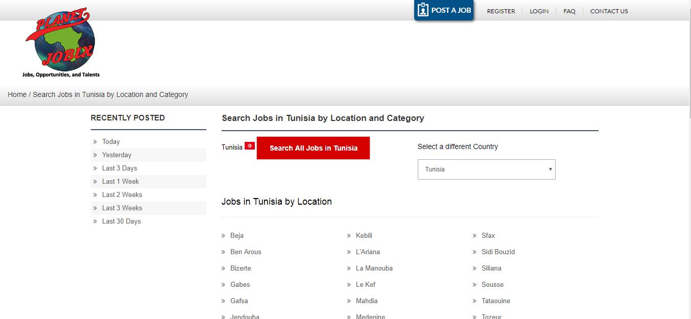 planet jobix -job oppotunities in Tunisia