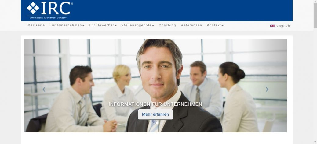 IRC Recruitment Company in germany