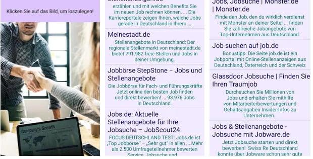 Jobsuche Deutschland app