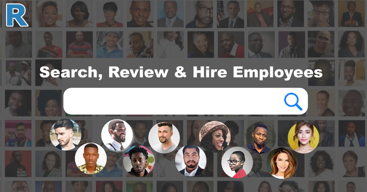 Search, Review and Hire Employees
