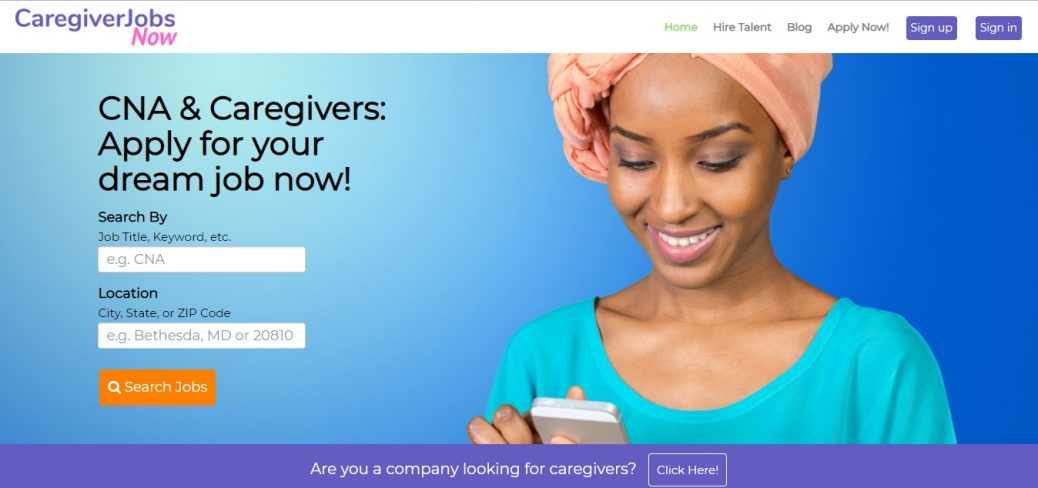 caregiverJobs Now