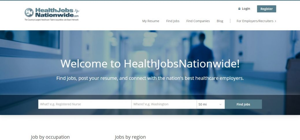 healthJobs Nationwide