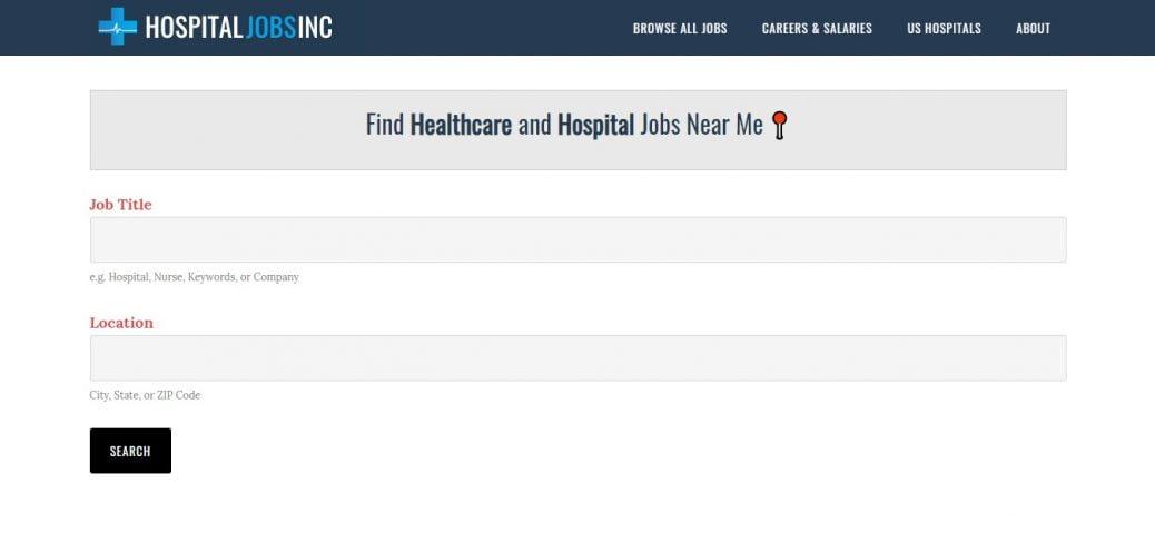 hospital jobs Inc