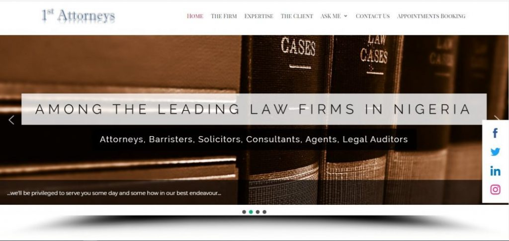 1st attorneys - law firms in victoria island