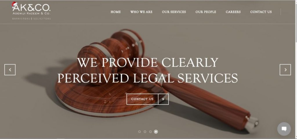 Adeniji kazeem & co - law firms in lekki