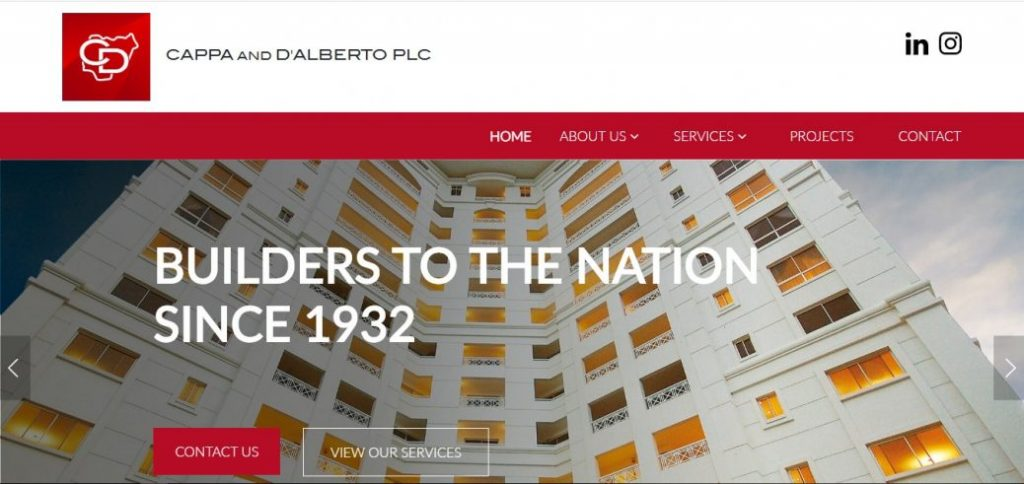 Cappa and D'alberto PLC - real estate companies in nigeria