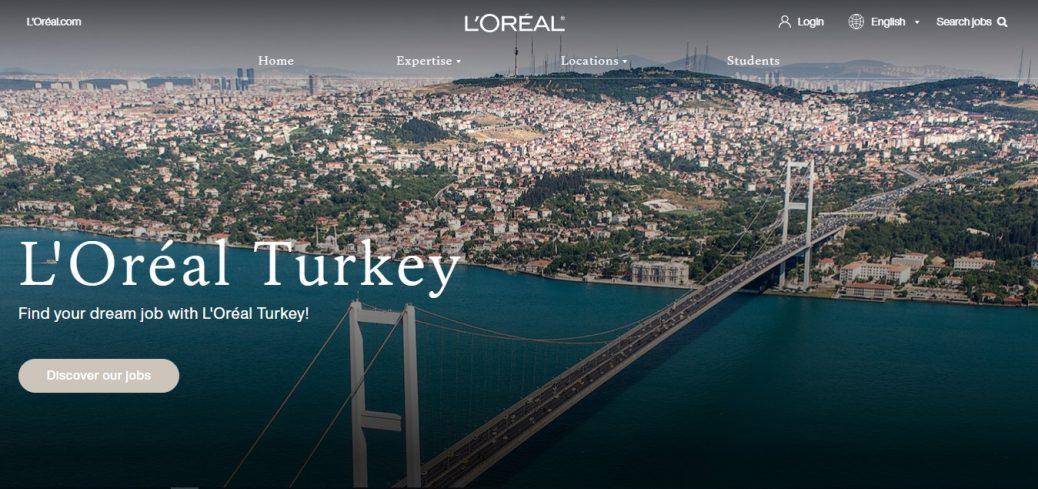 LÓreal Turkey- job sites in Turkey