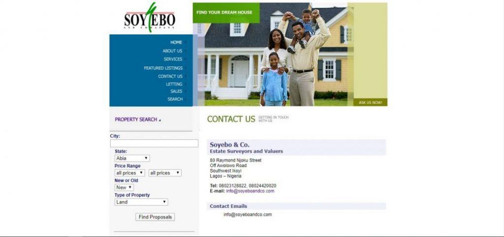 Soyobo & company - real estate companies in ikoyi lagos