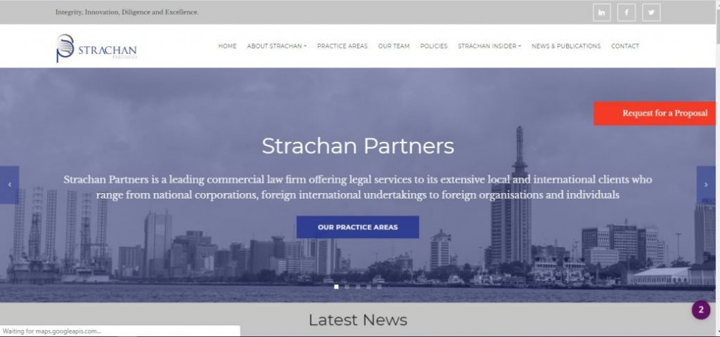 Strachan partners- law firms in lekki