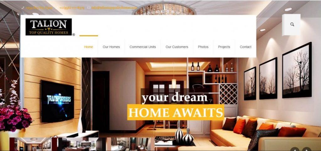 Tailion top quality homes - real estate companies in nigeria