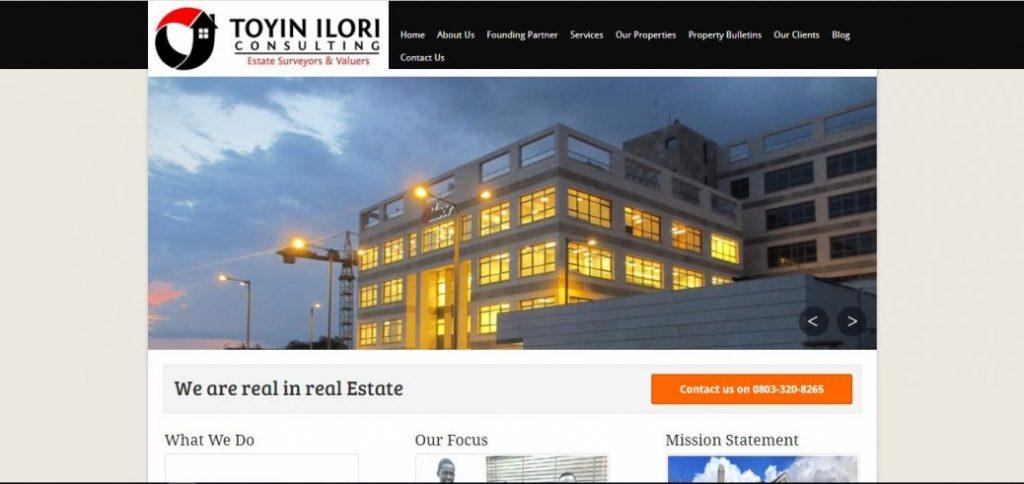 Toyin Ilori consulting - real estate companies in abuja