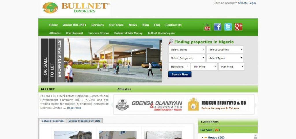 bullnet brokeers - real estate companies in lekki