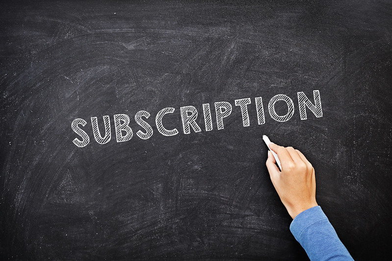 create a subscription plan