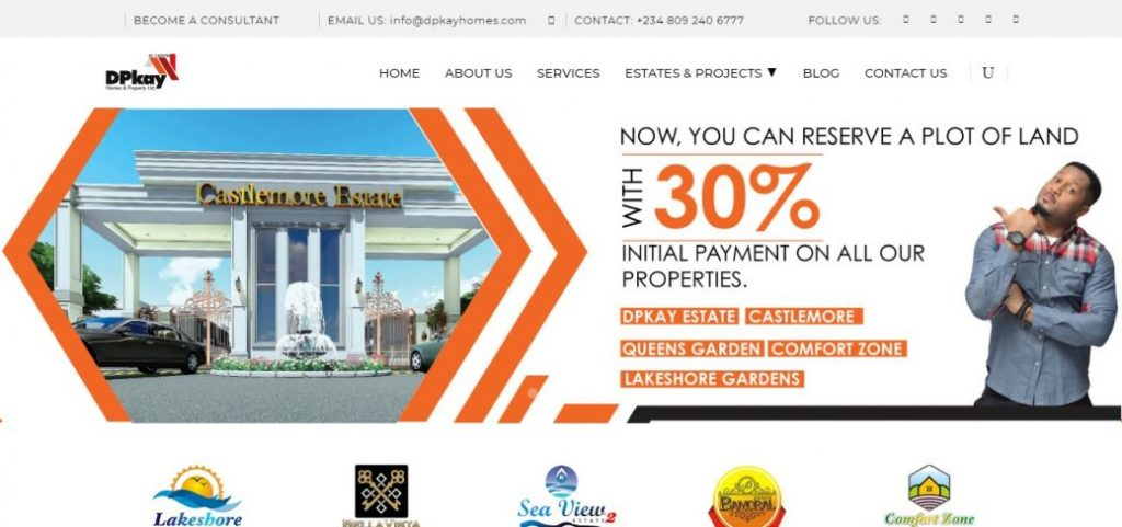 dpkay homes & property limited