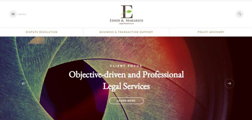esher &Makarios - law firms in victoria island