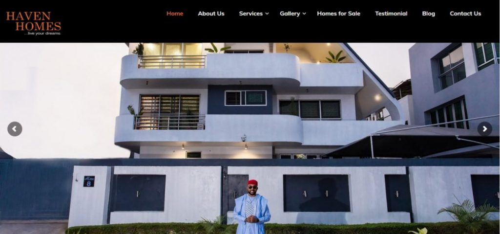 haven homes - real estate companies in lagos