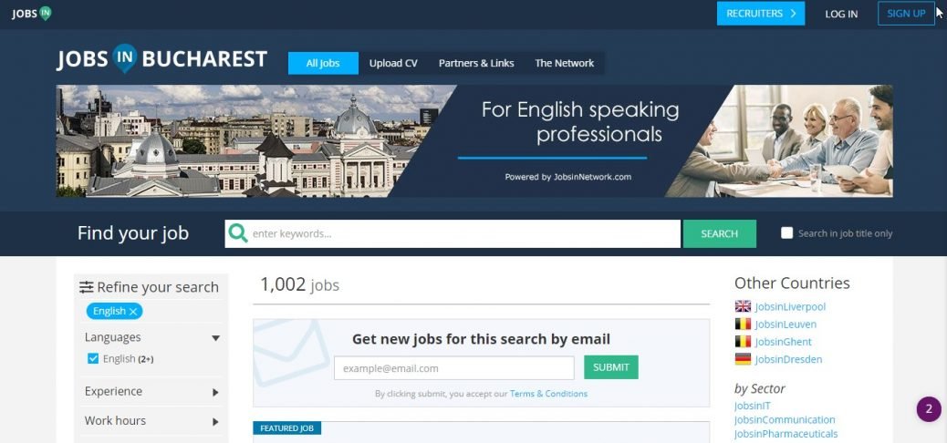 jobs in bucharest - jobs in romania