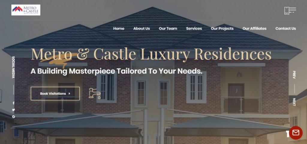 metro & castle - real estate companies in ikoyi lagos