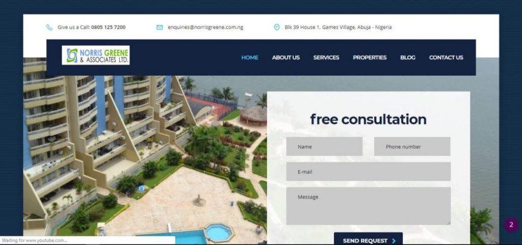 norris greene & associates - real estate companies in abuja