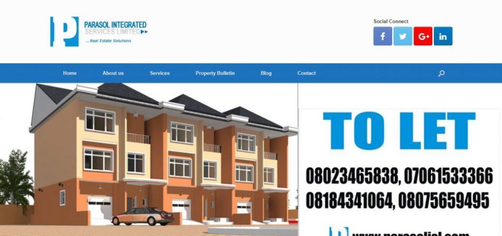 parasol integerated - real estate companies in ikoyi lagos
