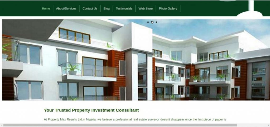 property max results ltd -real estate companies in nigeria