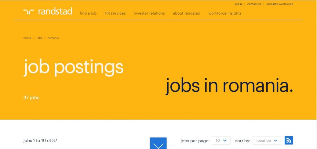 randstad -jobs in romania