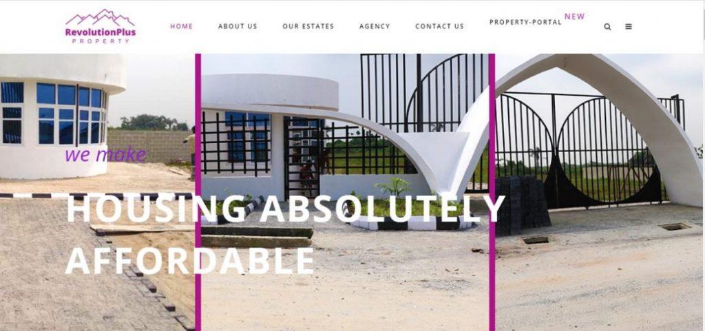 revolutionplus property - real estate companies in lagos
