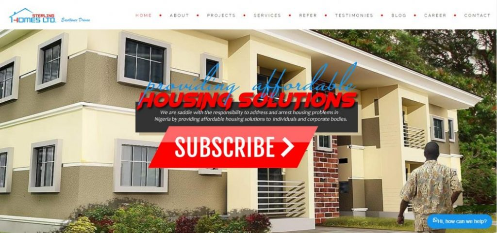 sterling homes - real estate compaines in lagos