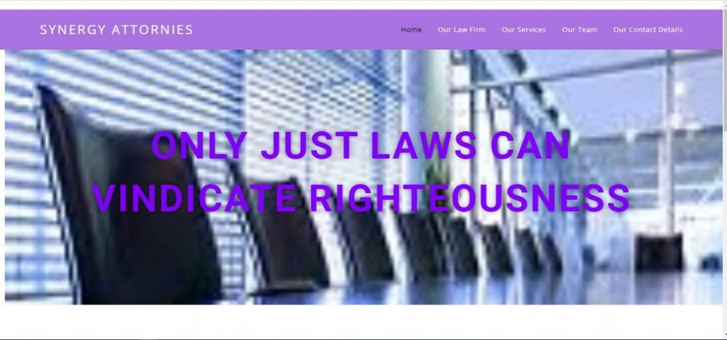synergy attornies - law firms in lekki