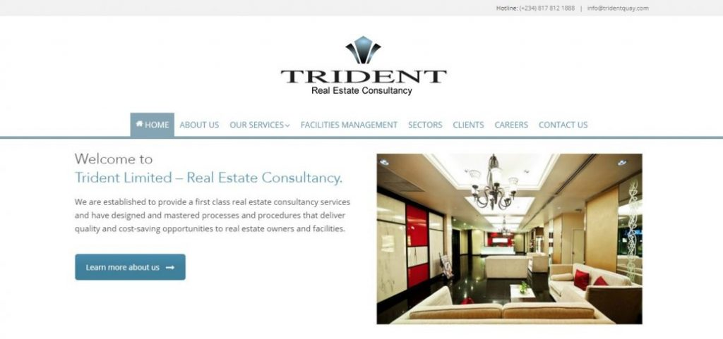 trident limited - real estate companies in lekki