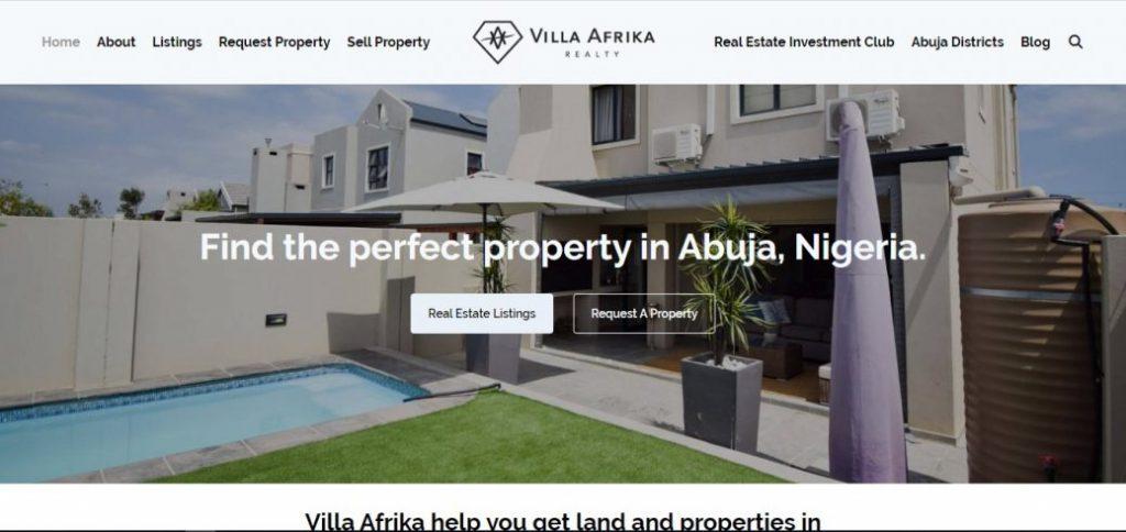 villa afrika - real estate companies in Abuja