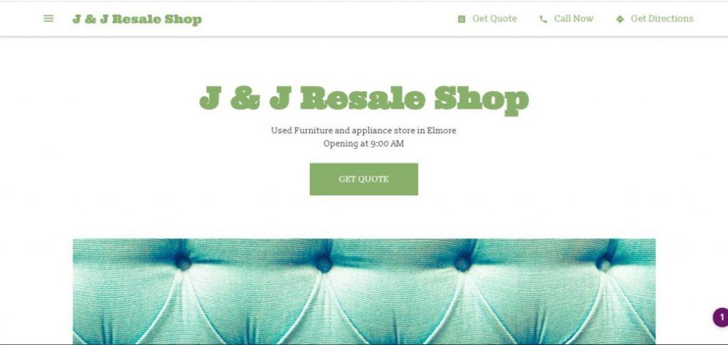 J & J Resale Shop