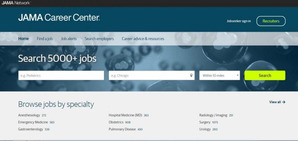 Jama Career center
