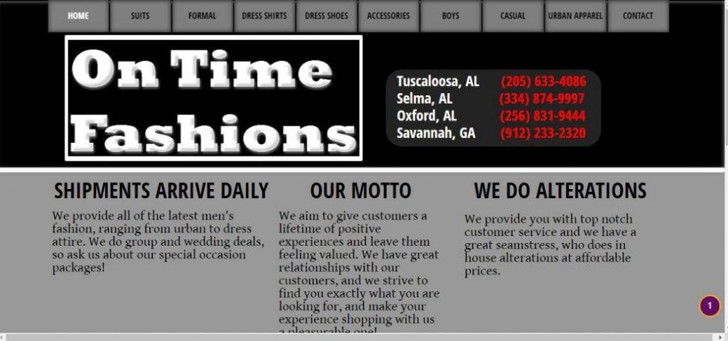 On time fashion