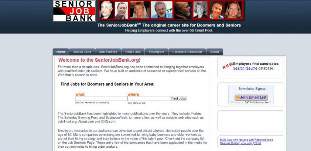 Senoir job bank
