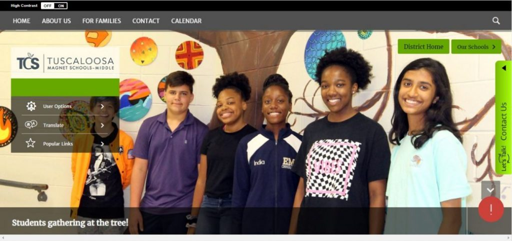 Tuscaloosa Magnet School Middle