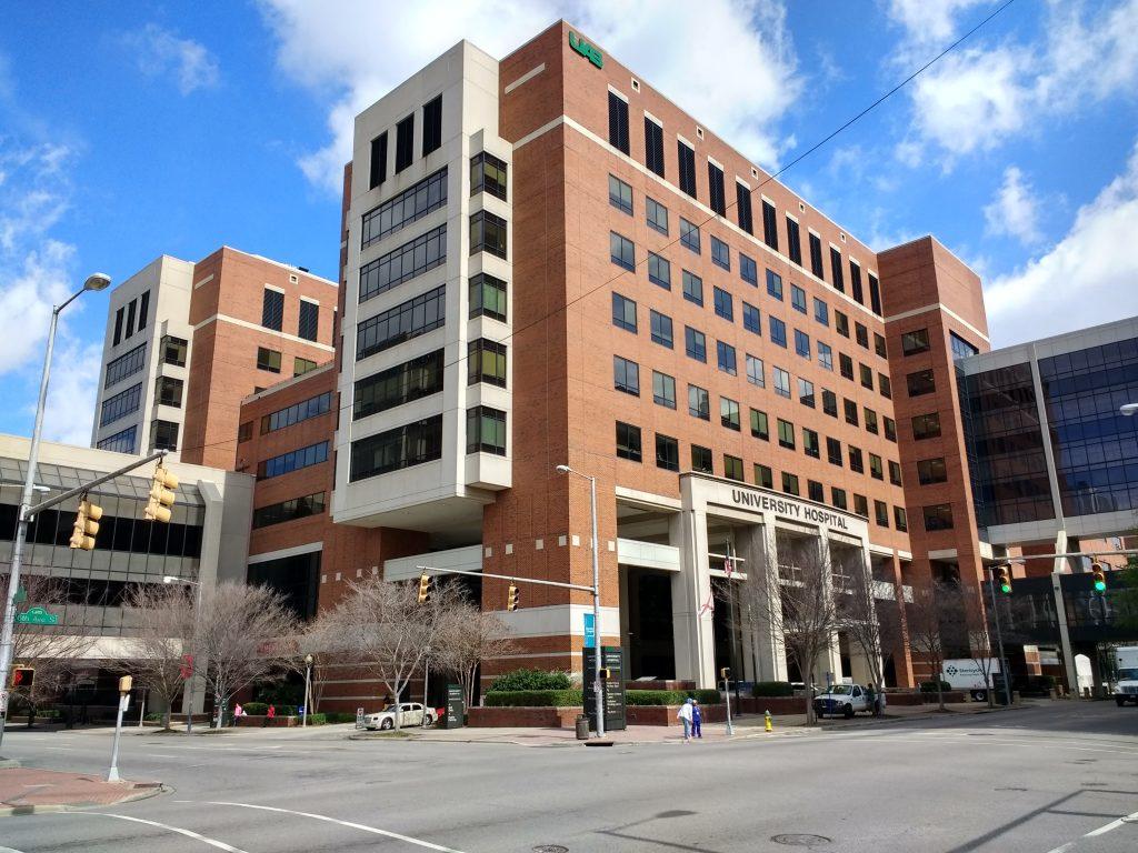 University of Alabama at birmigham hospital