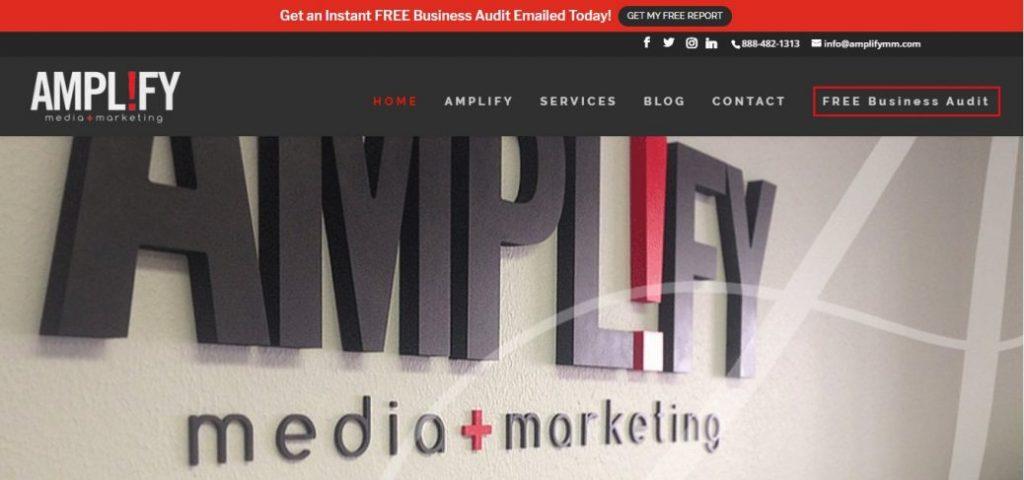 amplify media + marketing