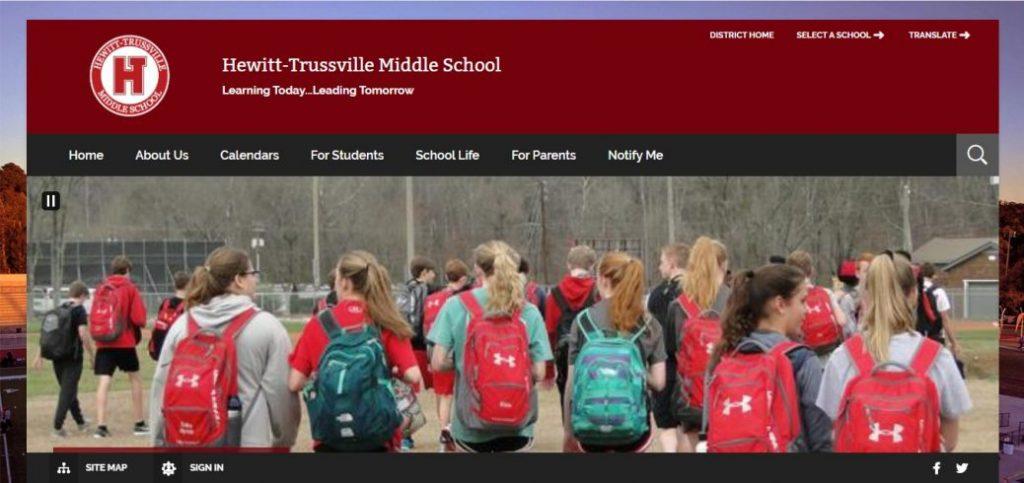 hewitt-trustville middle school