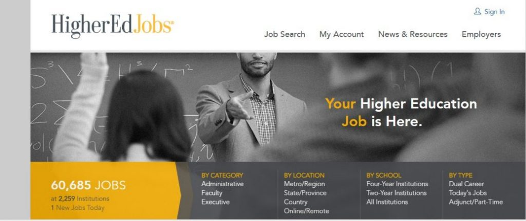 highered jobs