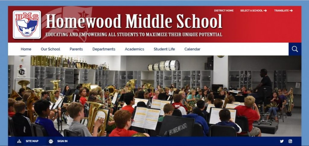 homewood middle school