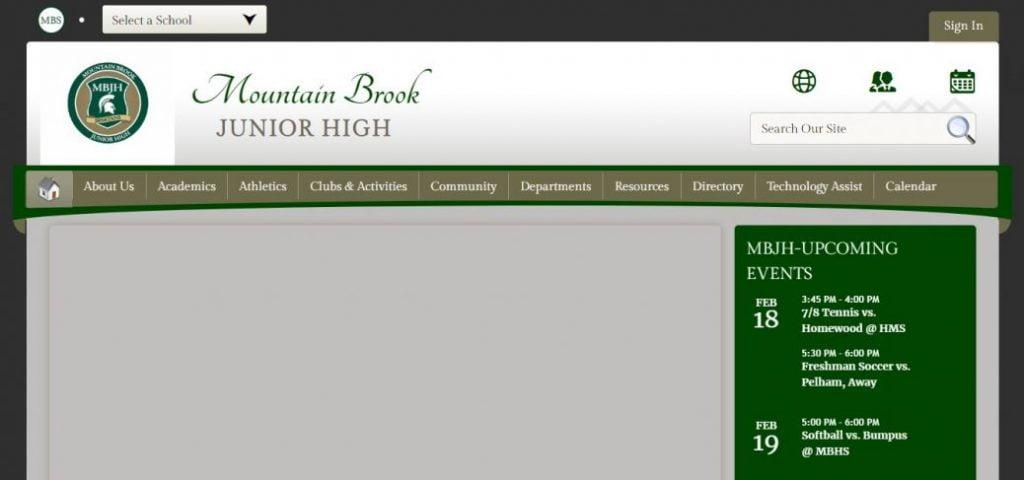 mountain brook junior high school